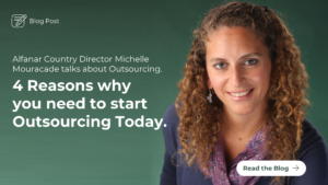 Alfanar Country Director Michelle Mouracade talks about Outsourcing